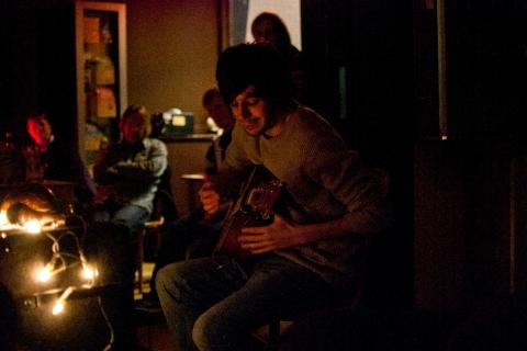 Finn LeMarinel. Newportsound, Newport. Sat 23rd Jan 2011.