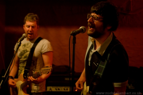 One Inch Volcano, Balcony Bar, Dundee. 27 May 2011.