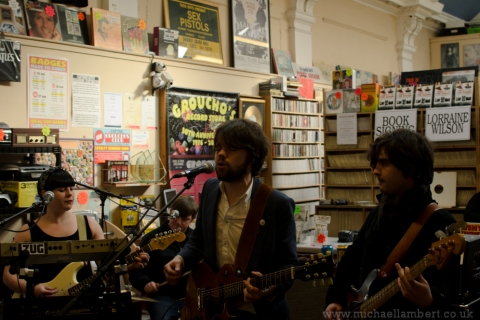 The Hazey Janes instore at Grouchos.