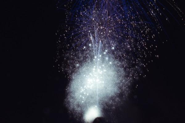 Fireworks. Baxter Park, Dundee.