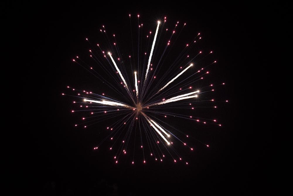 BAXTER PARK FIREWORKS / 05 NOV 2013