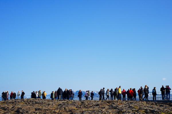 Þingvellir National Park, Iceland.